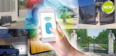 Open uw deur met uw mobiele telefoon. Smartphone App aansturing.